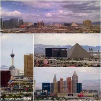 Las Vegas: Die Aussicht aus unserem Zimmer im The Orleans