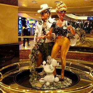 Winnie & Buck Greenback im Harrah's Las Vegas