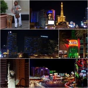 Der südliche Las Vegas Strip